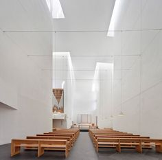 Rafael Moneo: Iglesia Iesu by pedro pegenaute