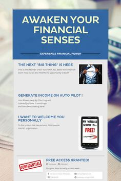 Help spread the word about Awaken Your Financial Senses. Please share! :)