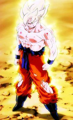 Goku, the super sayain.