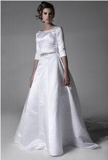148 best Modest Wedding Dresses images on Pinterest | Bridal gowns ...