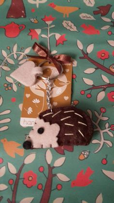 7 designs Woodland animal Keyrings **100% Profits to Tumbles Hedgehog Rescue** in Clothes, Shoes & Accessories, Women's Accessories, Keyrings | eBay