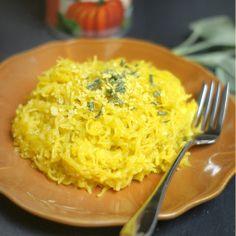 Plan to Eat - Creamy Pumpkin & Sage Pasta (Vegan) - MarlaJ