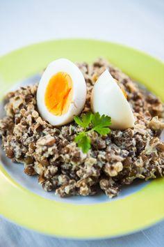Souboj receptů: Na čočce si můžete pochutnat! - Proženy Eggs, Breakfast, Recipes, Treats, Fit, Morning Coffee, Sweet Like Candy, Goodies, Shape