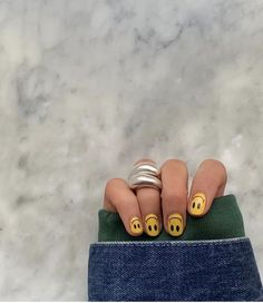 Aycrlic Nails, Swag Nails, Hair And Nails, Simple Acrylic Nails, Best Acrylic Nails, Nail Ring, Fire Nails, Funky Nails, Minimalist Nails