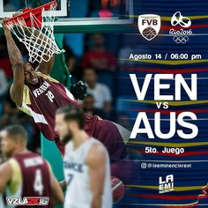 Via Instagram LAEMINENCIAreal Ultimo juego a apoyar todos  #Ven  Vs. #Aus #Vzla2K16 #rio2016  #JuntosSomosMas  #juegosolimpicos #basket #Baloncesto #2K16  #basketball #VinoTinto #venezuela  #siguemeytesigo #LaEminencia #basquet #tw