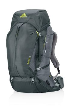Gregory Mountain Products Deva 70 Goal Zero Backpack, Volt Gray, Medium. Nomad 7 Plus Solar panel with magnetically secured flip down pane. Flip 10 charger portable battery. Interior electronics organizer. 55 lb max carry. Top-load, front u-zip access points.