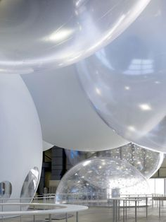 Nissan Y150 Dream Front pavilion  by Torafu Architects