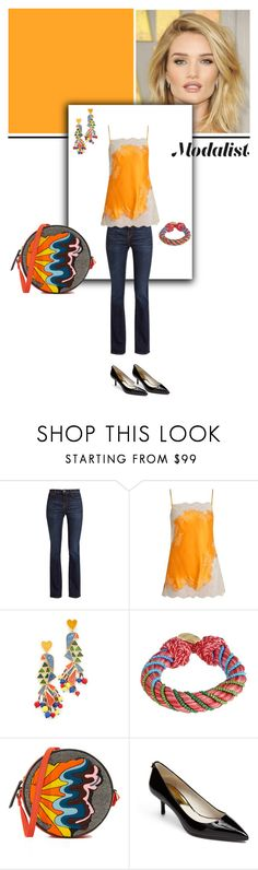 """""""Style in A Cami"""" by modalist ❤ liked on Polyvore featuring Ultimate, Weekend Max Mara, Carine Gilson, Tory Burch, Aurélie Bidermann, Olympia Le-Tan and MICHAEL Michael Kors"""