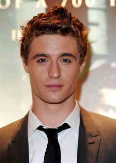 Disgustingly good looking Max Irons