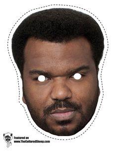 Print out masks celebrity gossip