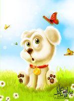 puppy Photoshop work