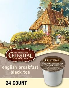ENGLISH BREAKFAST BLACK TEA K CUP 120 COUNT -- You can get additional details at the image link. (This is an affiliate link and I receive a commission for the sales)