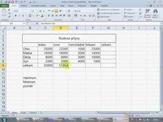 zaklady excel - YouTube Thing 1, Periodic Table, Youtube, Periodic Table Chart, Periotic Table, Youtubers, Youtube Movies