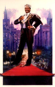 Coming to America by Drew Struzan. Still one of my top five movies of all time.