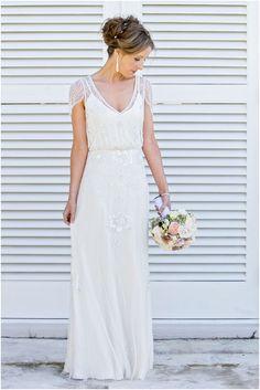 """Jenny Packham """"Eden"""" dress in Ivory  #jennypackham #eden #weddingdress"""