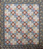 M for Mystery quilt - Den Haan & Wagenmakers