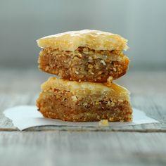 20 Mediterranean recipes including hummus, falafel, baklava ..and list goes on!