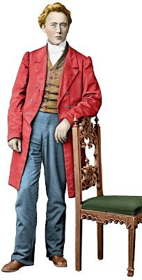Landofnodstudio's: Free Photo Friday- The Man in the Red Coat