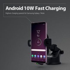 Fast Wireless Car Charger by RAVPower incl. car charger and Micro-USB cable – Mighty Gadgets Ltd. Ipone 7, Note 5, Samsung Galaxy S9, Charger, Cable, Smartphone, Gadgets, Usb, Cabo