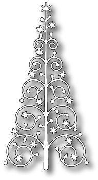 Memory Box Snowflake Tree Die