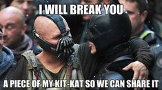 SO funny. All the Batman memes.