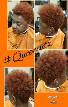 Custom Colors and Weaves that Look Natural Tapered Natural Hair Cut, Tapered Afro, Natural Hair Cuts, Twa Haircuts, Twa Hairstyles, Short Natural Styles, Sassy Hair, Short Hair Cuts, Models