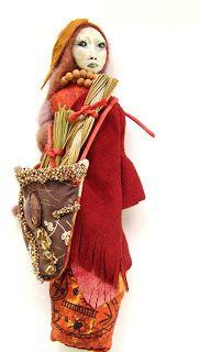 Wisdom Keeper Art Dolls: Symbolism of Sweetgrass Blessings Medicine Doll