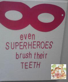 Kids Bathroom Wall art #DIY Silhouette project #Crafts #bathroom