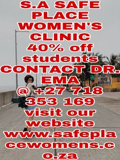 Contact Dr. Ema @ +27718353169 Click to follow link: safeplacewomensclinic@gmail.com Know more about safe place women's clinic where you can find best abortion clinic in Gaborone, Botswana We offer quick and safe medical abortion with medically approved abortion pills and womb cleaning pills and affordable care at safe place women's clinic in Mahikeng CBD, South Africa to Gaborone, Botswana Call +27718353169, South Africa 0718353169 Free Delivery Around Mahikeng Call 0718353169. Pregnancy Test Results, Safe Place, Pills, Free Delivery, Clinic, South Africa, Medical, Medicine, Med School