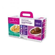 Cette Starting Box contient des sachets de saveurs différentes afin d'avoir une idée des différents plats que vous pourrez manger pendant votre Programme Perte de Poids de Milical. #santediscount #milical #programme #minceur #pertedepoids #regime #bienetre #beaute #innovant