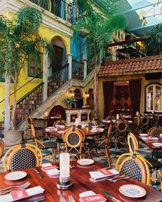 Cuba Libre, pressed bread and mango butter , enough said!