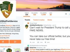 In the last few days more than 50 Twitter accounts—some claiming to be from employees at U.S. government agencies—have been set up to protest the actions by President Trump's new administrati…
