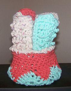 face cloth set I made