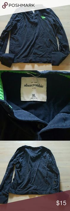 Abercrombie Kids Boys Long Sleeve Excellent condition! No rips, stains or tears. abercrombie kids Shirts & Tops Tees - Long Sleeve