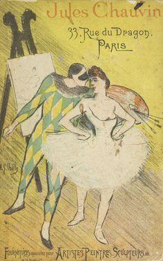 Jules Chauvin: atelier de dorure et d'encadrements... 1893. Metropolitan Museum of Art (New York, N.Y.). Thomas J. Watson Library. Trade Catalogs. #flexibility #dancer | The art of dancing.