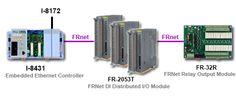 FRnet Interface Modules may be used with the ICP DAS WinCon-8000, LinCon-8000 and I- 8000 series products. FRnet communication modules can implement a FRnet network and have communication speeds of 250Kbps. They are designed for Industrial Automation, Remote I/O Control, Building Automation, and Parking Lot Management Data Acquisition Applications. More info: http://www.icpdas-usa.com/frnet_interface_modules.html?r=pinterest