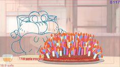 Paul Nicholson - 'THE AMAZING WORLD OF GUMBALL' 2D Key Animation Showreel