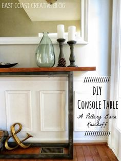 Ideas for craft room table diy pottery barn Diy Craft Table pottery barn craft table diy Diy Furniture Projects, Furniture Makeover, Home Furniture, Diy Projects, Craft Room Tables, Diy Table, Pottery Barn Hacks, Dyi, Easy Diy