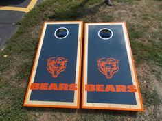 Chicago Bears boards by EpiphanyWoodWorking