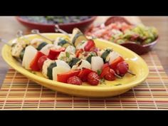Chicken Recipes - How to Make Chicken Kabobs Mexicana