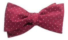 Cambridge Red Self-Tie Bow Tie