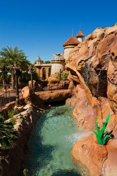 Journey of The Little Mermaid @ the New Fantasyland! #Disney #Fantasyland