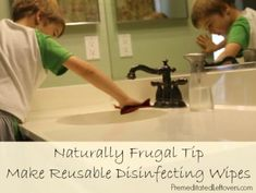 disinfecting wipes instead of buying cleaning wipes and you will save money and reduce waste!reusable disinfecting wipes instead of buying cleaning wipes and you will save money and reduce waste! Household Cleaning Tips, Cleaning Recipes, House Cleaning Tips, Cleaning Hacks, Household Products, Household Cleaners, Cleaning Supplies, Diy Cleaners, Cleaners Homemade