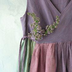 Apron Dress, Dress Up, Kinds Of Clothes, Clothes For Women, Shirt Embroidery, Girl Inspiration, Mori Girl, Linen Dresses, Boho