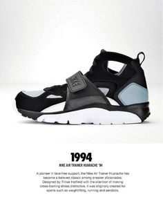 45940eb145301 Nike Air Trainer Huarache 94 My first pair of Nikes. Vintage Sneakers