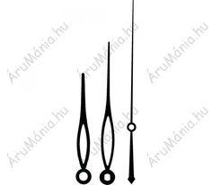 Óramutató készlet, alumínium, fekete 70X90X115mm, modern Modern, Arabic Calligraphy, Trendy Tree, Arabic Calligraphy Art