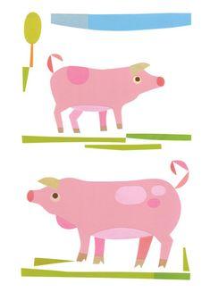 urubbu piggie card