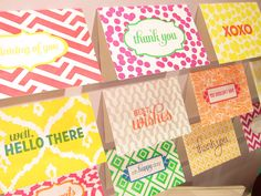 Doesn't get much cuter than this :) our new letterpress Haute Papier notes have a card for every occasion.