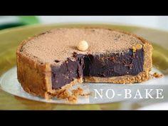 Nepečená čokoládová torta z 5 ingrediencií   Recept