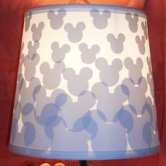 Brighten Up With a Magical Mickey Mouse Lamp Shade